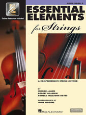 Essential Elements For Strings Viola Music Book 2 W/Online Interactive - New