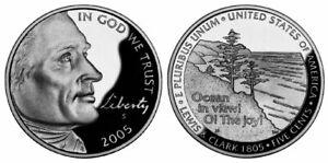 US 2005 P D $0.05 Ocean View Nickel Set of 2 Sealed Rolls UNC B4699