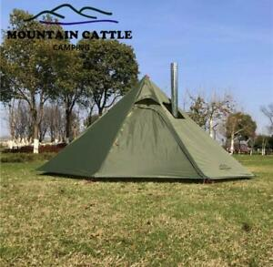 Camping Tent All Weather Waterproof Hiking Adventuring Ultrght Heated Shelter
