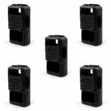 5x Rubber Soft Handheld Case Holster Fit BaoFeng UV-5R/5RA/5RE Plus Radio BK CE