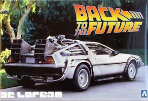 1:24 Scale Aoshima Back To The Future DeLorean Part 1 Model Kit #437P