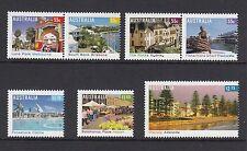 Australia 2008 Tourist Precincts - Stamp Set (3023/26/28/29/30)