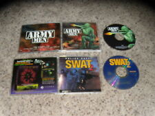 Army Men & Police Quest Swat 2 - PC Games Excellent Condiiton