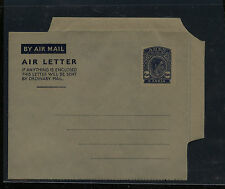 Aden  6 anna  air letter sheet  unused        APL 0424
