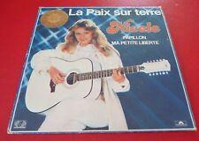 LP vinyl Album Nicole La Paix sur Terre ! Polygram Canada Records