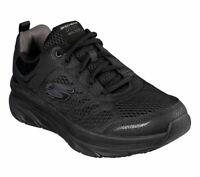 Skechers Black Shoes Men Memory Foam Cushion Sport Comfort Walker Casual 232044