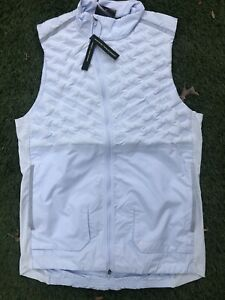 New w/ Defects Nike Aeroloft Running Gray 3M Vest Gilet BV4862-085. Read Desc!!