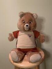 Vintage Teddy Ruxpin Talking Bear 1985 Worlds of Wonder Working, See Desc
