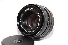HELIOS 44M-6 SLR Soviet Lens 2/58mm M42 Based on the Biotar 2/58 lens EXC++