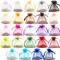 Premium Organza Gift Pouch Wedding Favour Jewellery Bag (6 Sizes, 25 Colours)