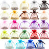 Premium Organza Gift Pouches Wedding Favour Jewellery Bags (6 Sizes, 25 Colours)