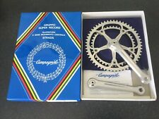 NOS New In Box CAMPAGNOLO Super Record Crankset 53/42T Chainwheel 170mm Fluted