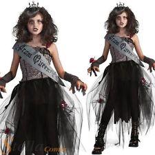 filles gothique BAL Reine Zombie déguisement halloween ENFANTS ENFANTS COSTUME