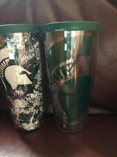 Set of 2 Michigan State Spartans Tervis 24 oz tumblers