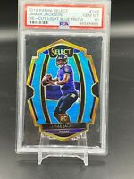 2018 LAMAR JACKSON PANINI Select Die Cut Blue Prizm 94/99 PSA 10 MVP Ravens