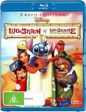 Lilo and Stitch 1 and 2  - BLU-RAY - NEW Region B