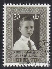 Liechtenstein 1956 - Mi. 252 Ausstellung Vaduz  gestempelt