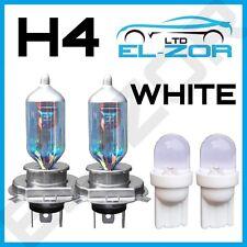 H4 Xenón Blanco 55w Luz De Cruce 12v Faro Lámparas 501 Luz Lateral