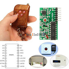 IC 2262/2272 4 CH Key Wireless Remote Control 315MHZ Receiver module F Arduino