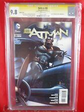 DC Comics VARIANT COVER Batman #28 CGC SS 9.8 Signed Howard Chaykin BROWN APP.