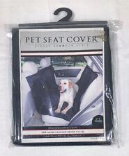 "Nandog Car Pet Seat Cover Deluxe Hammock Style 59"" X 47"" - Black Nylon"