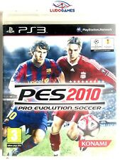 Pro Evolution Soccer 2010 PALSPA PS3 Como Nuevo Completo Videojuego Playstation
