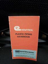 Chemtrol Plastic Piping handbook 1973
