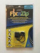 Fix N zip Media Nera Nickel Sostituzione Zip Cappotto Giacca Da Moto