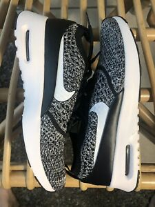 NEW Nike Air Max Thea Ultra Flyknit Shoes Black White 881175 001 Women Size 6.5