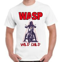 W.A.S.P. Wild Child 80s Heavy Metal Band Wasp Cool Ideal Gift Unisex T Shirt 591