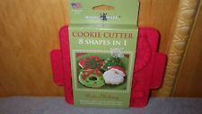 Nordic ware Reversible Cookie Cutter, Winter Holiday Shapes, New, Made in Usa