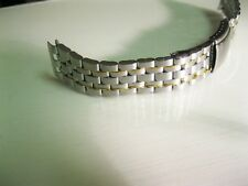 Genuine Seiko SDWB90 Men's Silver Tone Stainless Steel Watch Band 7T32-7C69