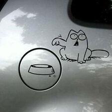 Funny Cat For Auto Car/Bumper/Window Vinyl Decal Sticker Decals DIY Decor