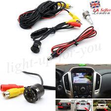 UK Car Reversing Rear View IR Camera 8LED Light Night Vision Parking Backup IP66