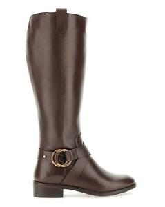Maggie Leather Wide E Fit Extra Curvy Plus Calf - UK6 - Womens