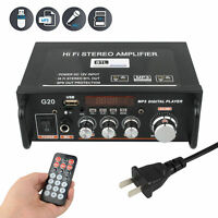 Mini Bluetooth Audio Amplifier Receiver Stereo Power Amp