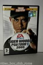 TIGER WOODS PGA TOUR 2005 GIOCO USATO PC CD EDIZIONE ITALIANA MAXIMA MC3 36504