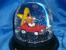 """Walt Disney """"Speedy Gonzales"""" esfera de nieve grande snowglobe made in Germany"""