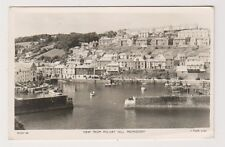 Cornwall postcard - View from Polvirt Hill, Mevagissey - RP