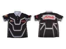 Mikado/Logo T-Shirt Negro/Gris/Blanco, Pequeño