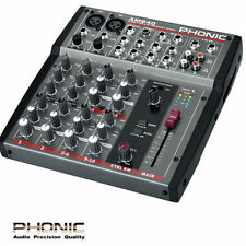 Phonic Front of House (FOH) Analog Pro Audio Mixers