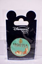 Disney Paris Hotel Sequoia Lodge Logo Chip and Dale Pin