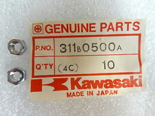Kawasaki NOS NEW  311B0500A Nut 5mm (2) KZ KZ750 KZ400 LTD 1975-83