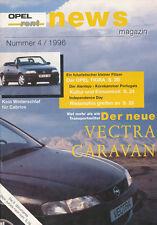 Opel rent News 4 96 1996 Independence Day Tigra Vectra Caravan Documenta 1997