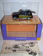NOREV RARE RENAULT 4 R4 PARISIENNE NOIR/JAUNE REF 510006 1/43 IN BOX