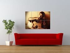 BOB DYLAN GUITAR YOUNG ICON MUSIC FOLK HERO GIANT ART PRINT PANEL POSTER NOR0031