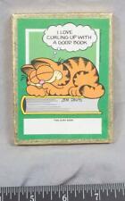 Vintage Garfield Book Labels ajd