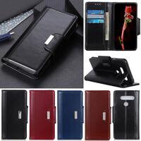 Luxury Wallet Leather Flip Case Cover For LG Q60 Q70 G7 G8 V60 K40s K50s K20 K30