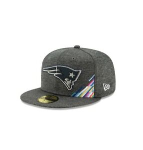 🔥 NEW ERA 59fifty mens fitted hat 7 5/8 Patriots Crucial Catch 12113760