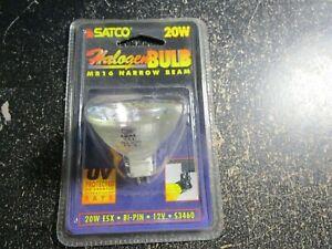 Satco S3460 ESX 20W 12V MR16 Narrow Spot Halogen Light Bulb